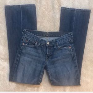 7 for all Mankind bootcut Jeans , size 24